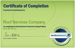 Service Channel Certification